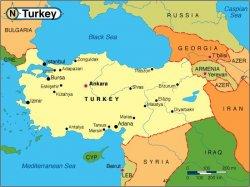 География Турции